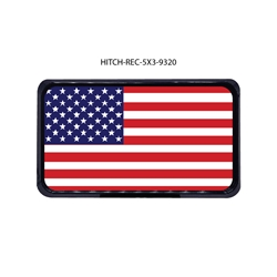 American Flag Hitch Cover   Tow Hitch Cover, Hitch Cover, Receiver Hitch Cover, Receiver Cover, USA Hitch Covers, Tailgating, Bottle Olpener Hitch Cover