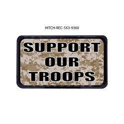 Camo-Support Our Troops Hitch Cover  Tow Hitch Cover, Hitch Cover, Receiver Hitch Cover, Receiver Cover, USA Hitch Covers, Tailgating, Bottle Olpener Hitch Cover