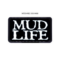 Mud Life Hitch Cover Tow Hitch Cover, Hitch Cover, Receiver Hitch Cover, Receiver Cover, USA Hitch Covers, Tailgating, Bottle Olpener Hitch Cover