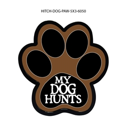 My Dog Hunts Hitch Cover Tow Hitch Cover, Hitch Cover, Receiver Hitch Cover, Receiver Cover, USA Hitch Covers, Tailgating, Bottle Olpener Hitch Cover