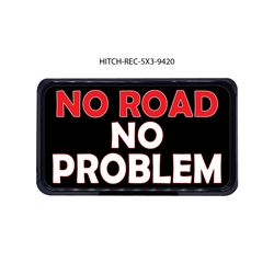 No Road No Problem Hitch Cover Tow Hitch Cover, Hitch Cover, Receiver Hitch Cover, Receiver Cover, USA Hitch Covers, Tailgating, Bottle Olpener Hitch Cover