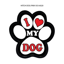 I Love My Dog Hitch Cover Tow Hitch Cover, Hitch Cover, Receiver Hitch Cover, Receiver Cover, USA Hitch Covers, Tailgating, Bottle Olpener Hitch Cover